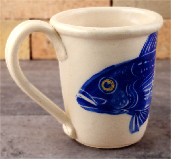 Mug - Hand Painted Fish