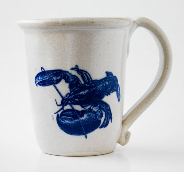 Chatham Pottery Lobster Decal Mug