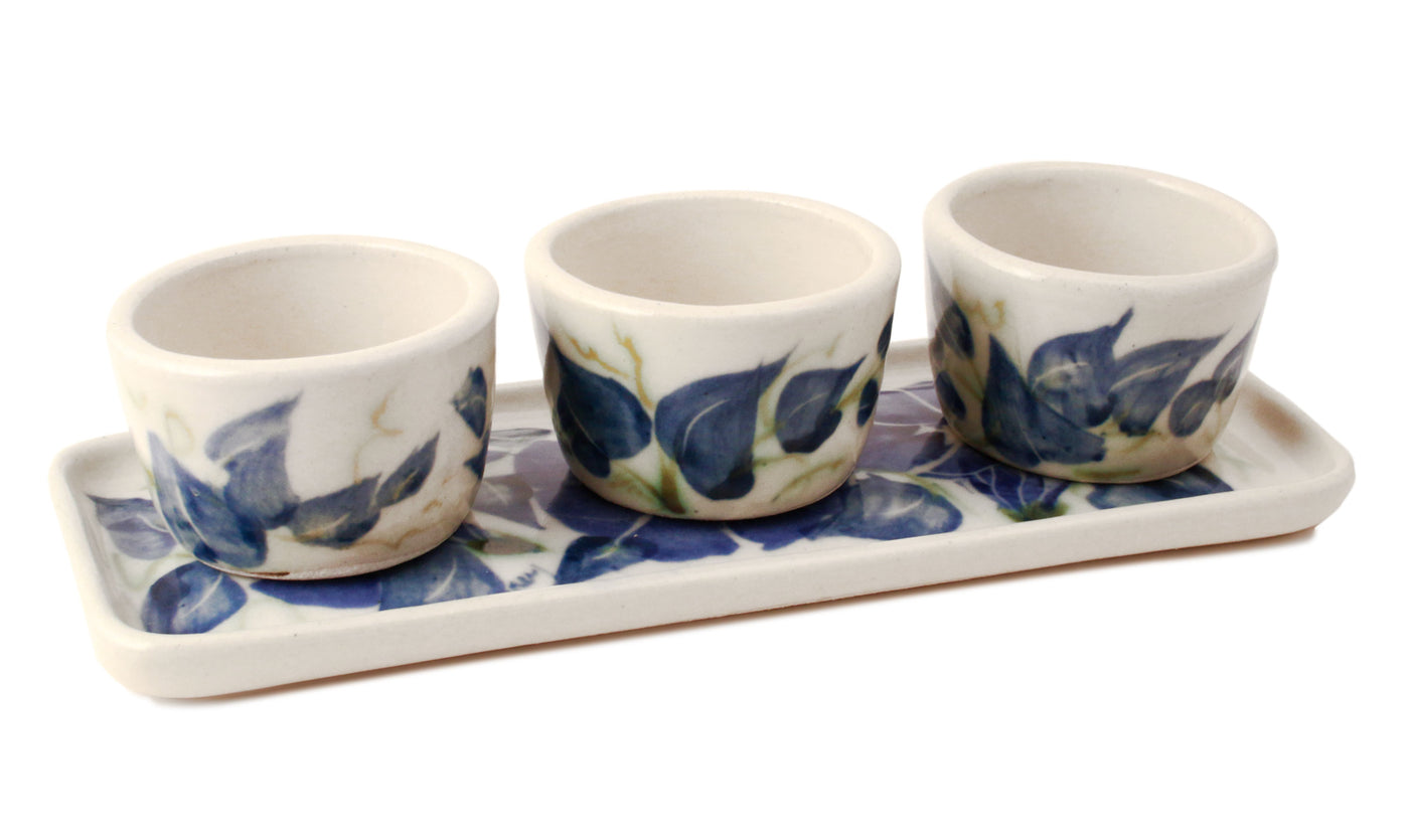 Morning Glory Pinch Pot Set