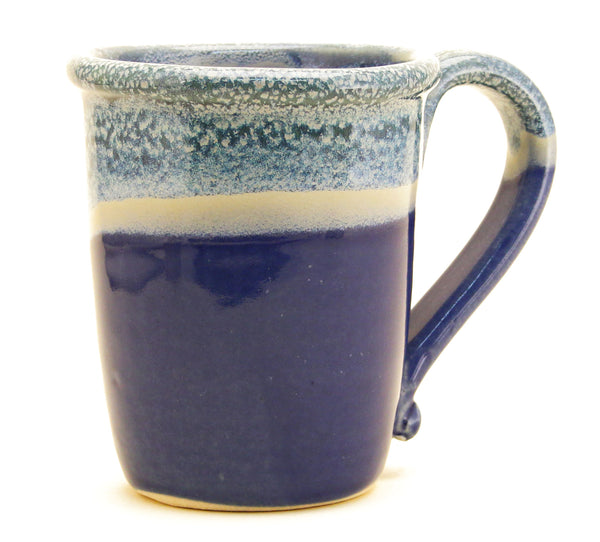 Chatham Pottery Duotone Sea Foam Blue Mug