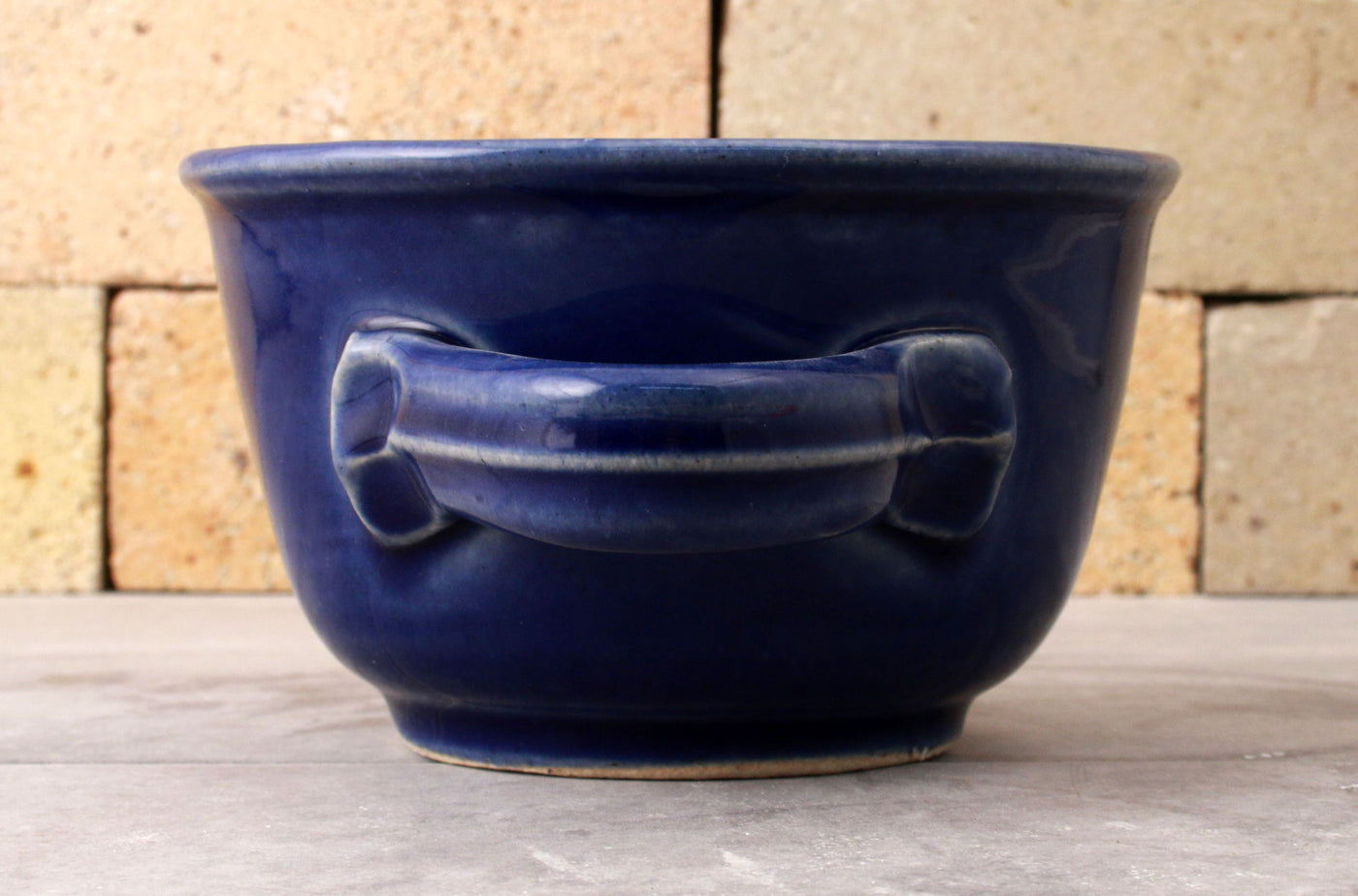 "Shave Mug - the ""Western"" - Cobalt Blue"