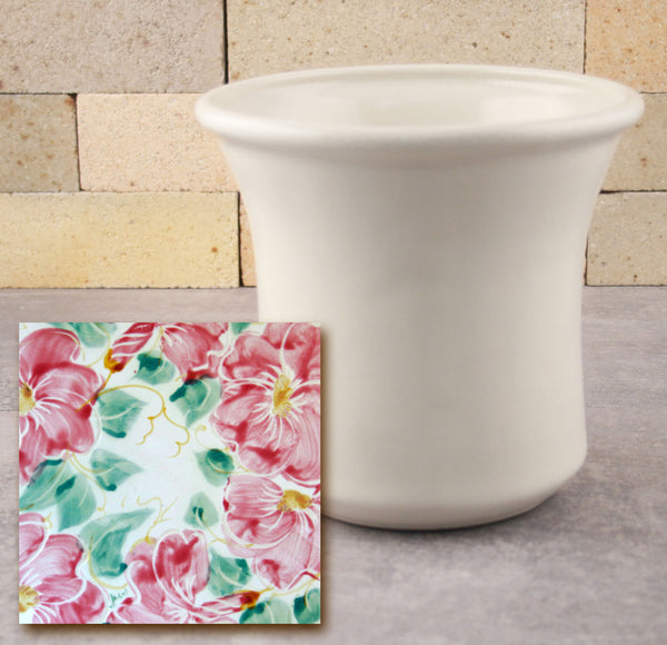 Utensil Holder - Beach Rose