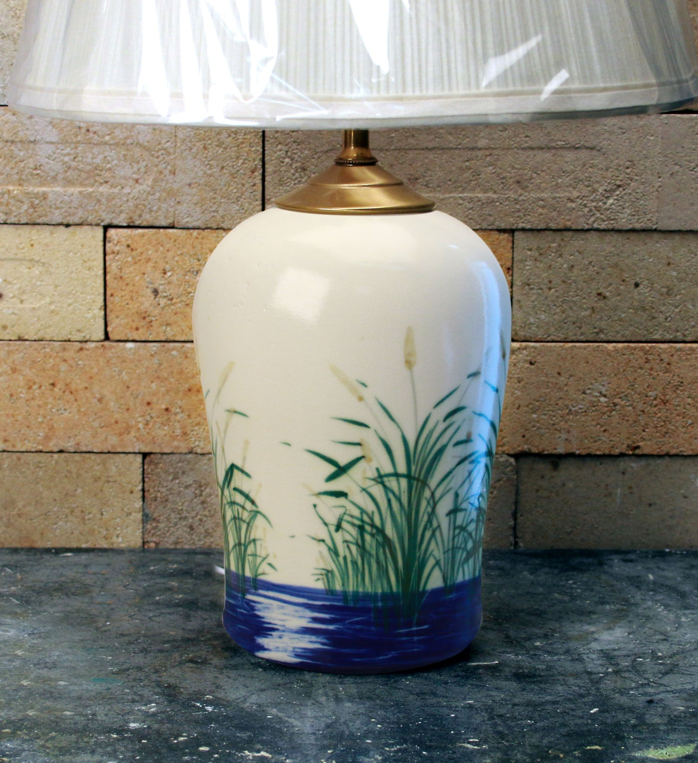 Chatham Pottery Beach Grass Small Lamp