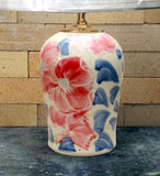 Chatham Pottery Beach Rose Medium Lamp