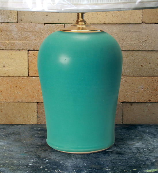 Chatham Pottery Caribbean Blue Medium Lamp