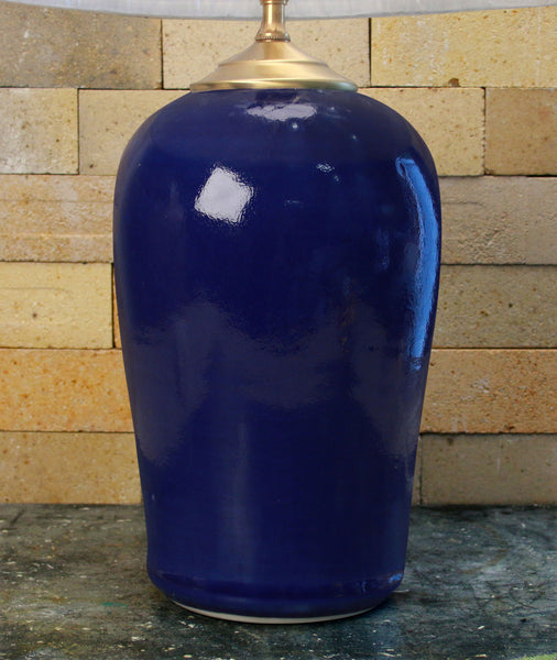 Chatham Pottery Cobalt Blue Large Lamp