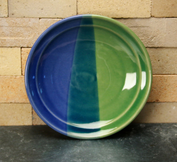 Dinnerware - Duotone - Cobalt and Sea Green