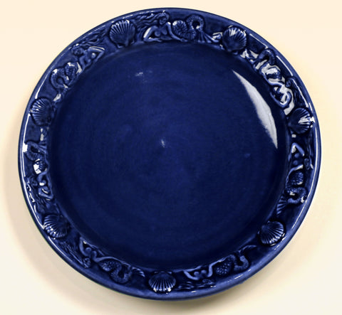 Mermaid Platter - Cobalt