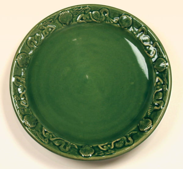 Mermaid Platter - Sea Green