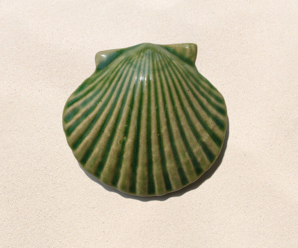 Shell Paperweight - Sea Green