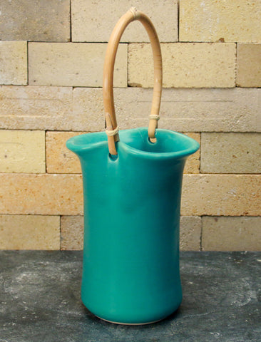Wine Caddy - Caribbean Blue