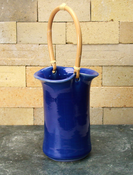 Wine Caddy - Cobalt