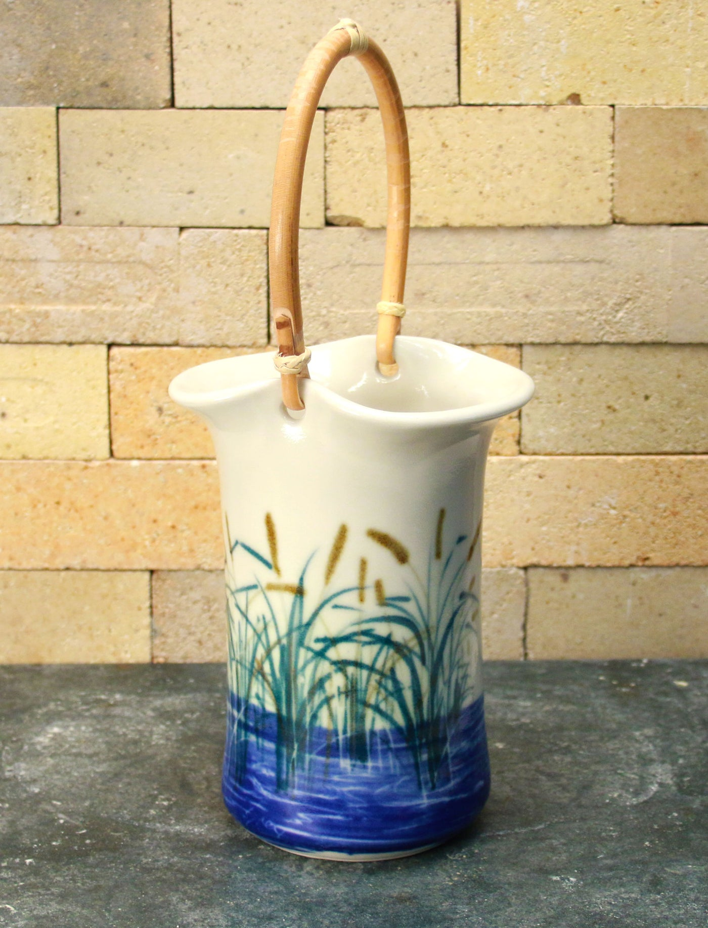 Wine Caddy - Sea Grass