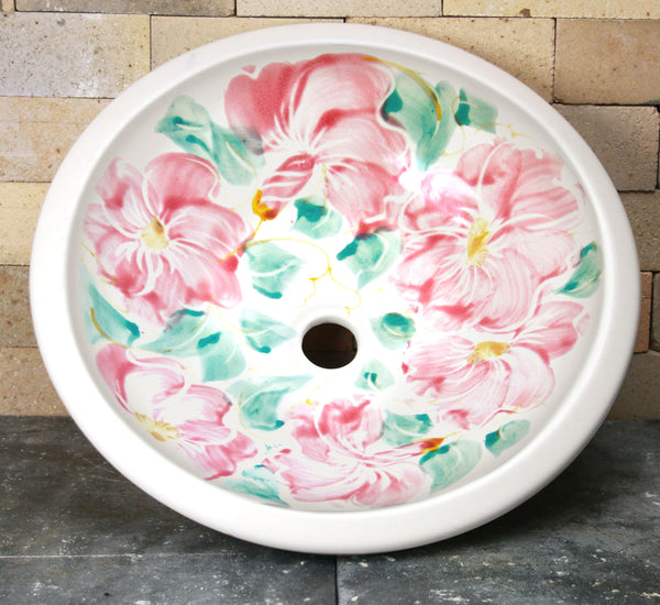 Drop-In Sink - Beach Rose