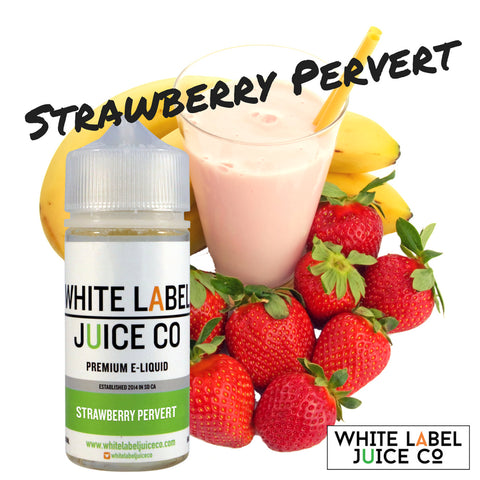 Strawberry Pervert (Strawberry, Banana Milkshake)