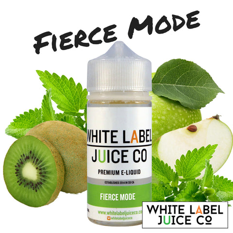Fierce Mode (Kiwi, Green Apple, and Menthol)