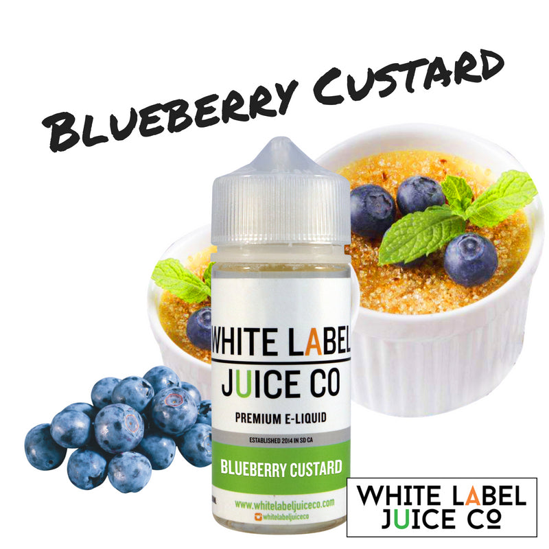 Blueberry Custard