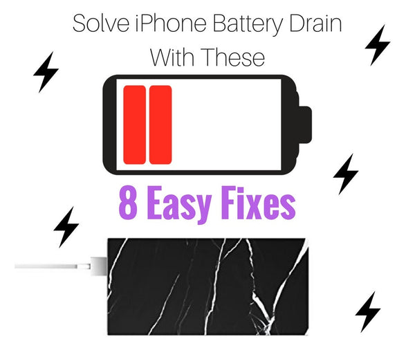 Solve iPhone Battery Drain with these 8 Easy Fixes!