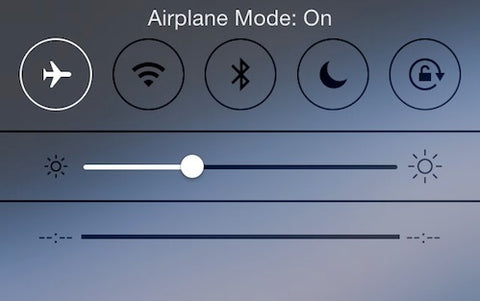 apple airplane mode