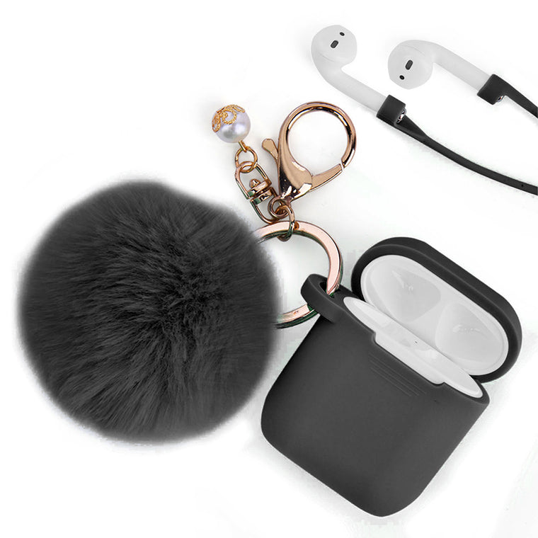 Black Classy Case for Airpods
