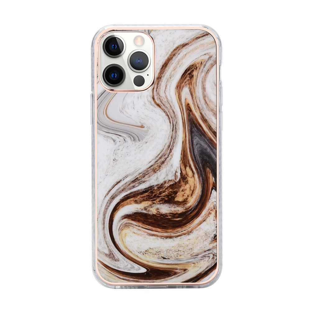 Cocoa Marble Case for iPhone