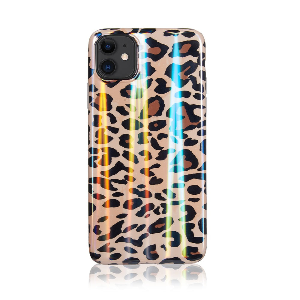 Leopard Holographic Case for iPhone