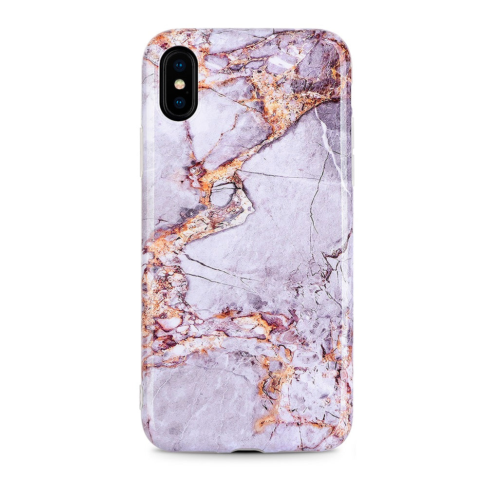 Classy Lavender Marble Case for iPhone
