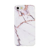 Classy Rose Gold Marble Case for iPhone