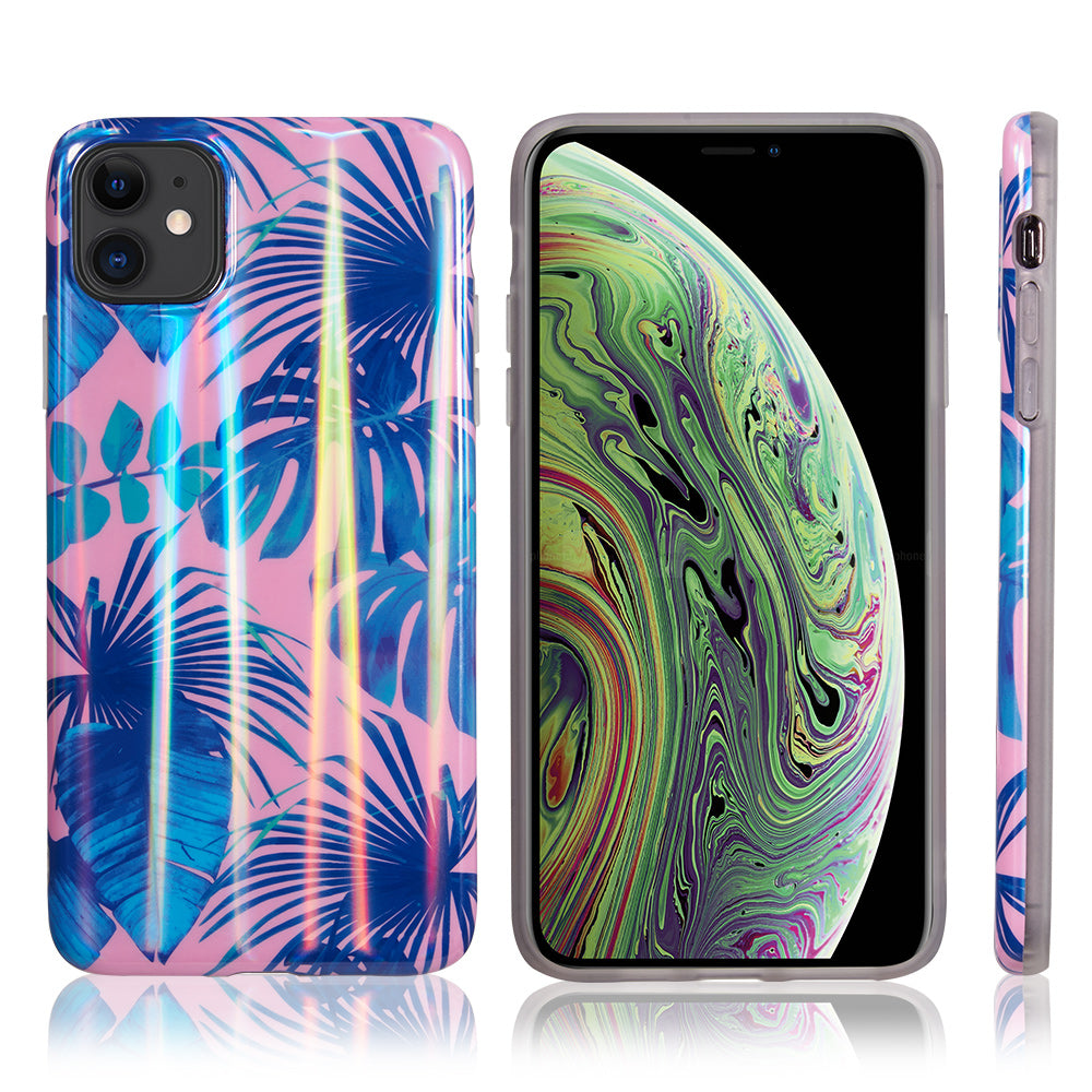 Holographic Tropical Sunrise for iPhone