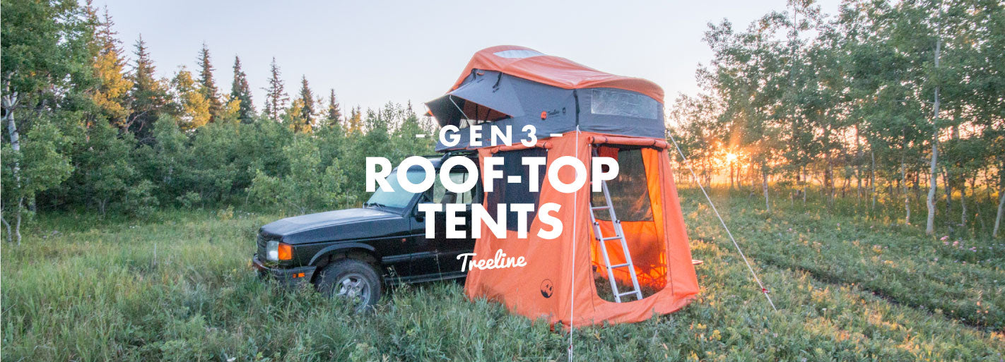 Treeline Outdoors Gen3 Roof-Top Tents