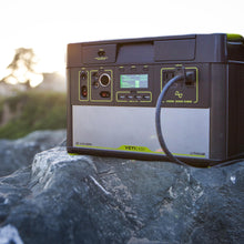 Yeti 1400 Lithium Portable Power Station has a rugged design perfect for camping
