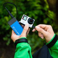 Flip 20 Charger is perfect for camping to ensure your camera, phone or GPS is charged