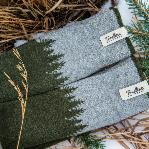 The Skookumchuck Wool Socks Treeline Outdoors