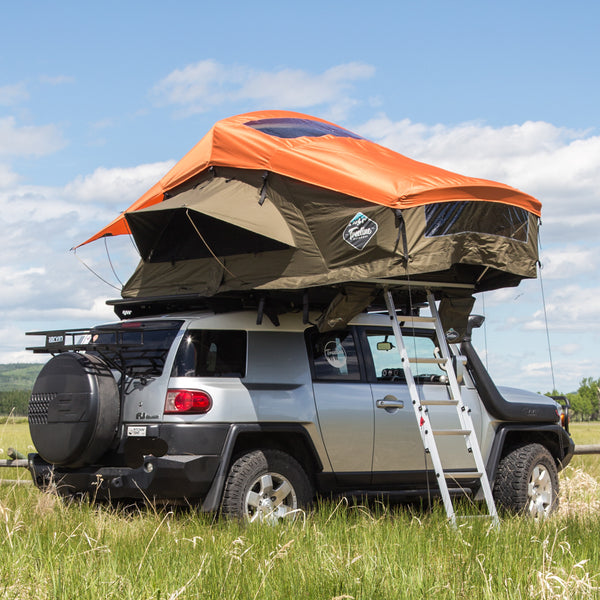 Tamarack Constellation Spruce Burnt Orange Roof Top Tent