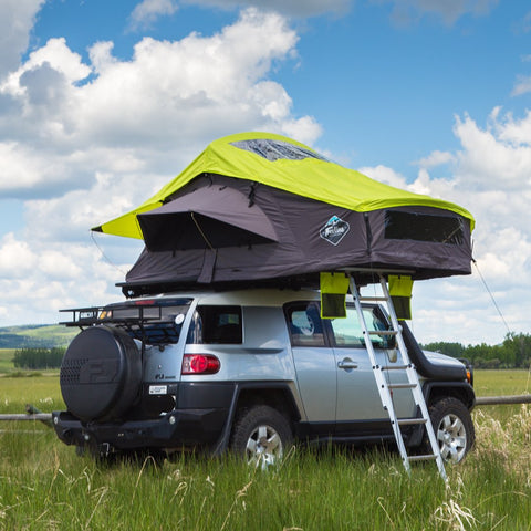 Treeline Ponderosa grey lime roof top tent
