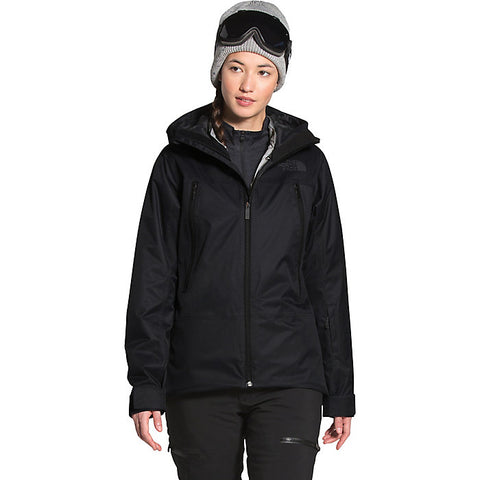 TNF Women's Clementine Triclimate Jacket Black/Grey Heather