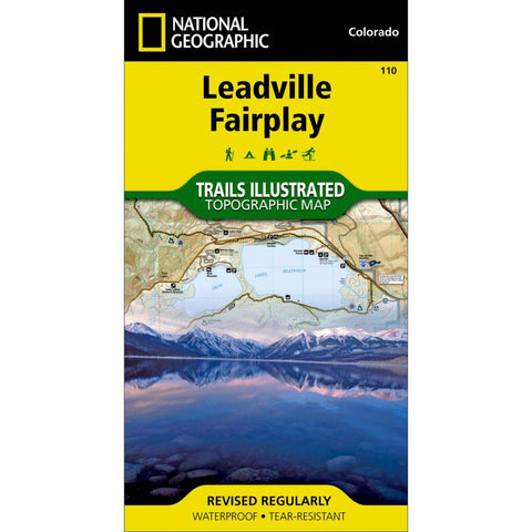 National Geographic - Leadville, Fairplay 110 map