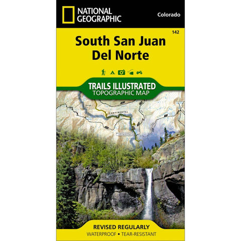 National Geographic Map South San Juan Del Norte 142