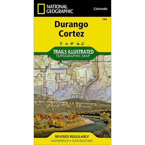 National Geographic - Durango, Cortez 144 MAP