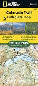 National Geographic - Colorado Trail Collegiate Loop 1203 Map
