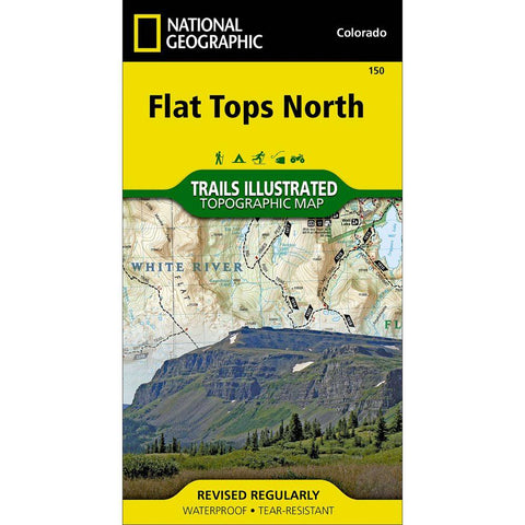 National Geographic - Flat Tops North 150 MAP
