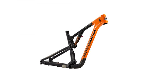 Rocky Mountain Bicycles(US) Element Carbon Frameset Orange/Black - Gloss Fox Racing Orange / Matte Man in Black SM Mountain Bike
