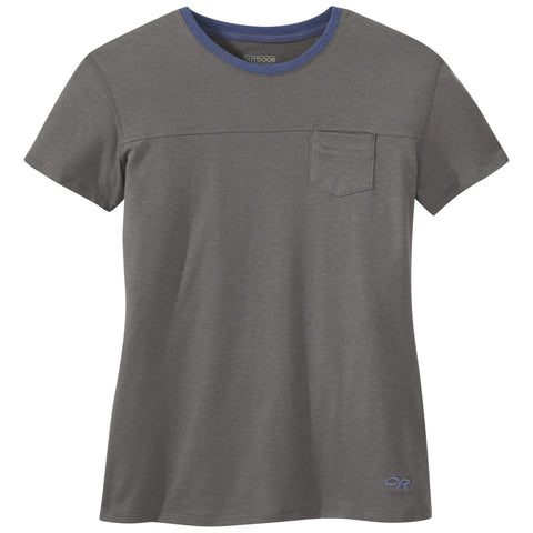 Outdoor Research Women's Axis S/S Tee Pewter S