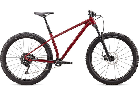 2020 SPECIALIZED FUSE 27.5 CRMSN/RKTRED XL