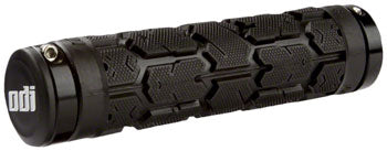 ODI Rogue Lock-On Grips - Black, Lock-On, Bonus Pack