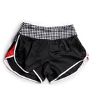 SOAS Houndstooth Run Shorts