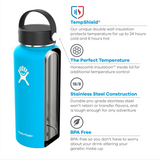 Hydro Flask - 64oz Wide Mouth with Flex Cap