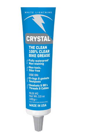 White Lightning Crystal Grease, 3.5oz Tube
