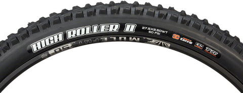 MAXXIS High Roller II TR EXO 3CT WT 27.5x2.5 FB Black