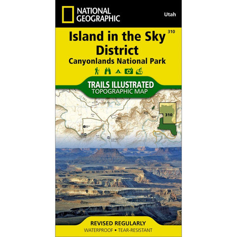 National Geographic Island in the Sky District Map 310